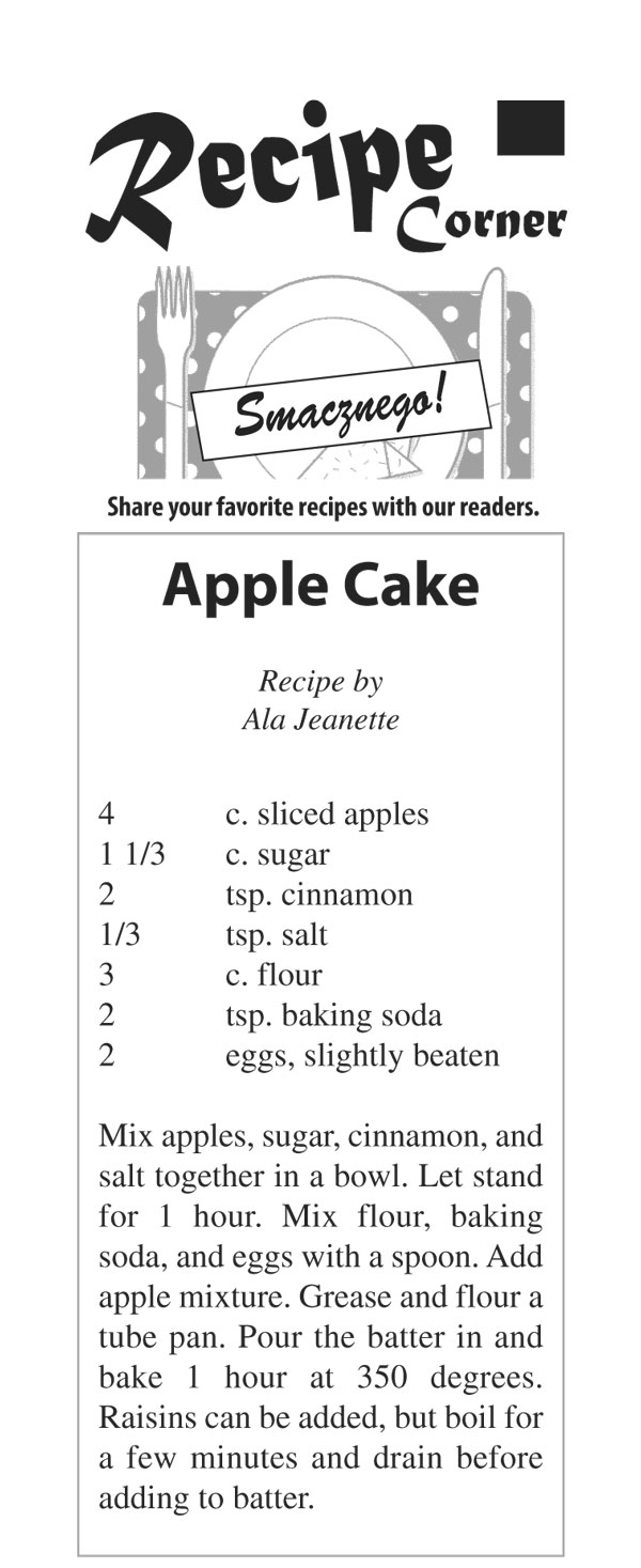 Recipeapplecake