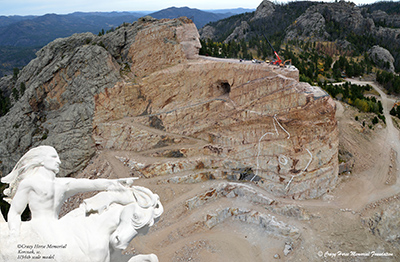 One time use only with permission from ©Crazy Horse Memorial Foundation